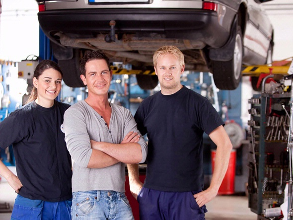 Vehicle Service Station Training